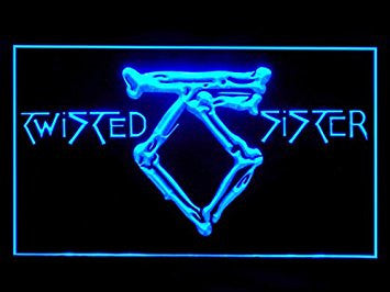 Twisted Sister Bar Led Light Sign