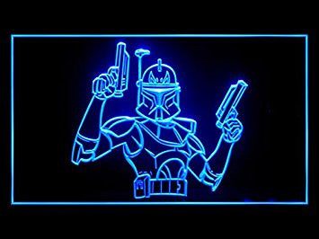 Star Wars Boba Fett Bar Hub Advertising LED Light Sign J574B