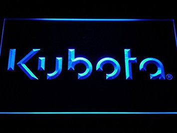 Kubota Tractor LED Neon Light Sign Man Cave D185-B