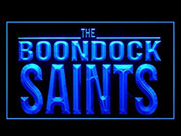 Boondock Saints Neon Sign (Pattern 1.Bar. Hub. Advertising. LED. Light. J969B)