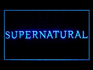 Supernatural Bar Hub Advertising LED Light Sign J902B