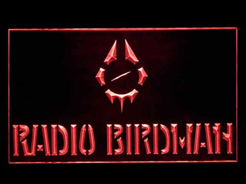 Radio Birdman Hub Bar Advertising LED Light Sign P239R