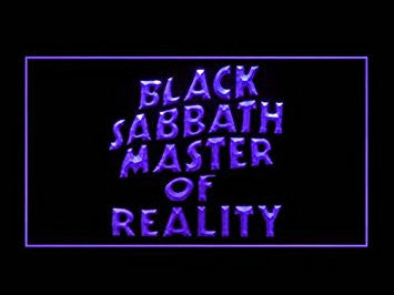 Black Sabbath Master of Reality Hub Bar Advertising LED Light Sign P869P