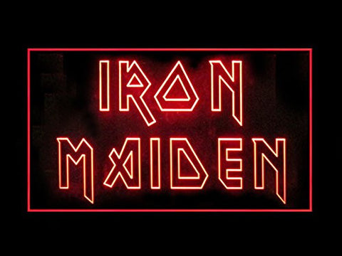 Iron Maiden Advertising Led Light Sign