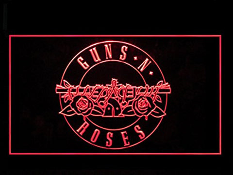 Guns N Rose Neon Sign (Advertising. LED. Light)