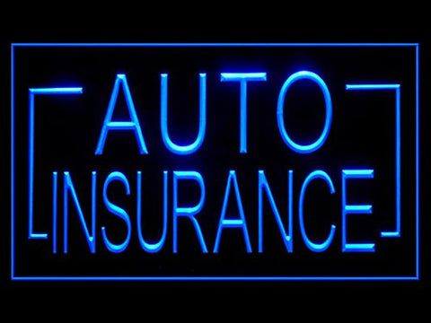 C B Signs Auto Insurance LED Sign Neon Light Sign Display