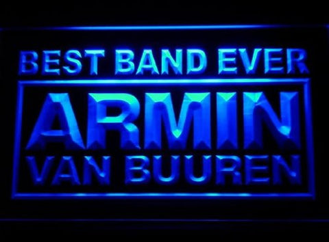 Best Band Ever Armin Van Buuren Neon Sign (Light. LED)