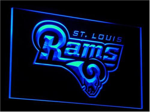 St. Louis Rams Neon Sign (Light. NFL. Football. LED)