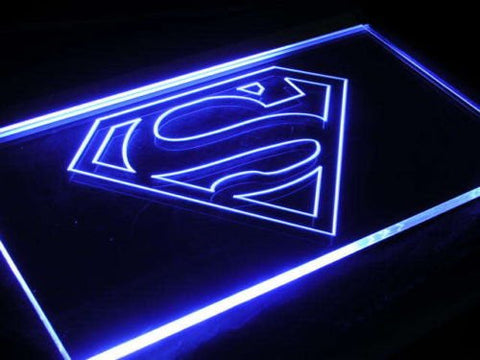 Superman Man Cave LED Neon Sign - Light Sign