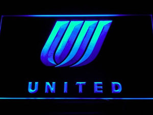 United Airlines Neon Sign (Light. LED)