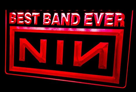 Best Band Ever NIN Neon Sign (Nine Inch Nail. Light. LED. NL495)