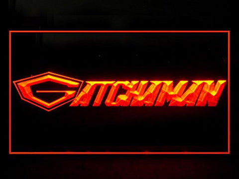 Gatchaman G Neon Sign (P891R. Force. Hub. Bar. Advertising. LED. Light)