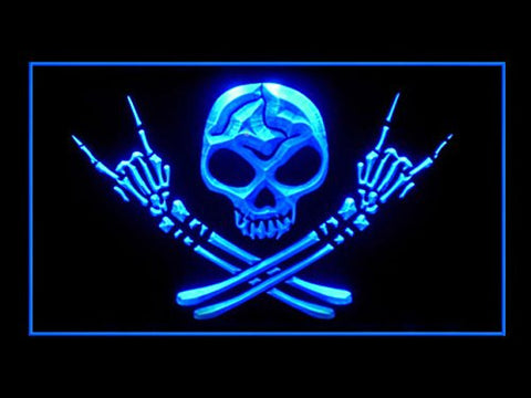 Skull Bro Neon Sign (Light. LED. Man Cave)