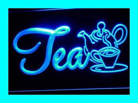 Tea Neon Sign (Light. Open. Product. Cafe. Shops. LED)