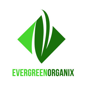 Custom Sign. Evergreen Organix. Size 300x200mm