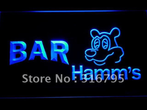 BAR Hamm's Beer LED Neon Sign