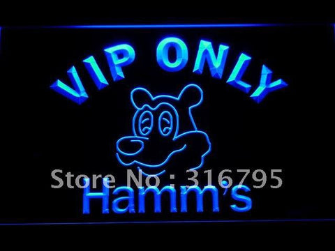 VIP Only Hamm's Beer LED Neon Sign
