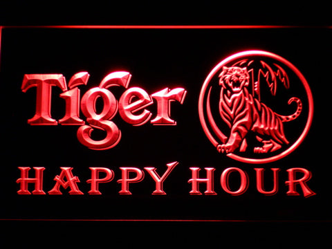 Tiger Beer Happy Hour Bar LED Neon Sign
