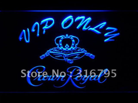 VIP Only Crown Royal Beer LED Neon Sign
