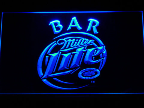 Miller Lite Bar Beer LED Neon Sign