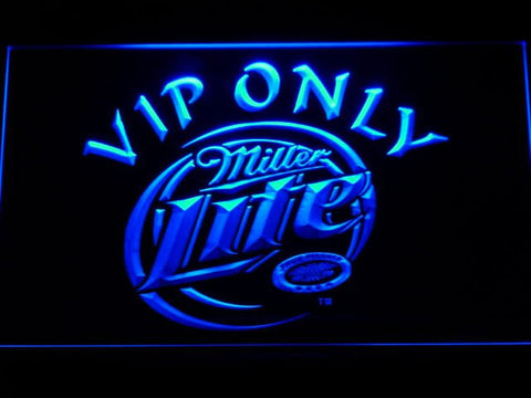 Miller Lite VIP Only Neon Sign (Beer. LED)
