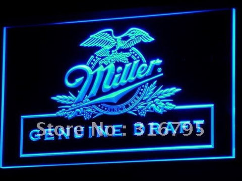 Miller beer Draft Bar Pub Club LED Neon Sign