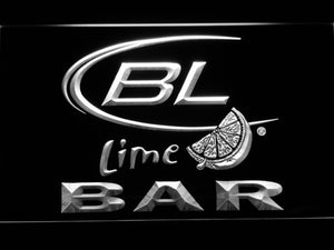 BAR Bud Lite Lime Beer LED Neon Sign