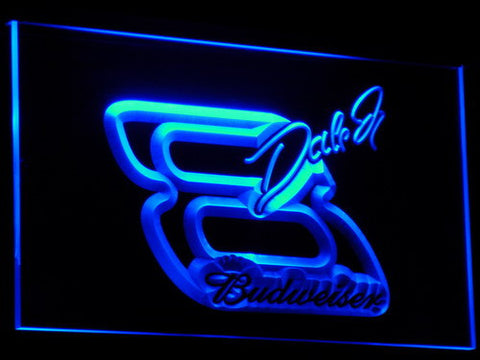 NASCAR #8 DALE EARNHARDT Beer Bar LED Neon Sign
