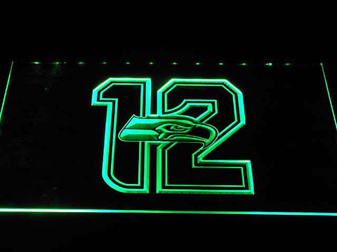 Seattle Seahawks LED Neon Sign