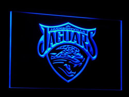 Jacksonville Jaguars LED Neon Sign