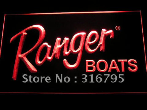 Ranger Boat Logo LED Neon Sign