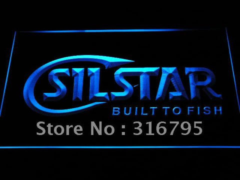 Silstar Fishing Logo LED Neon Sign