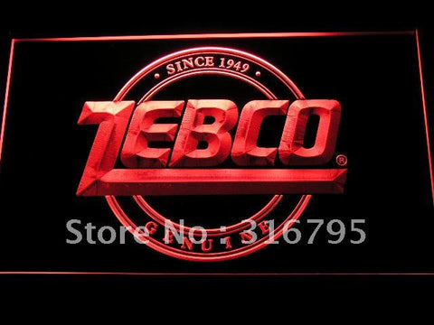 Zebco Genuine Fishing Logo LED Neon Sign