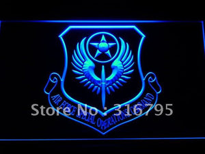 Air Force Special Operations Comm LED Neon Sign