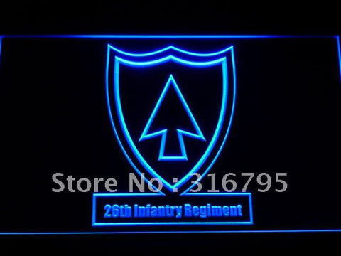 26th Infantry Regiment Army LED Neon Sign