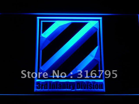 3rd Third Infantry Division Army LED Neon Sign