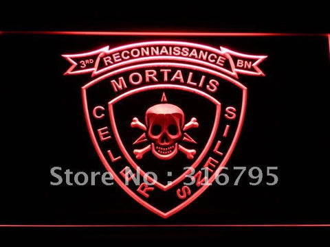 3rd Recon Marine Battalion USMC LED Neon Sign