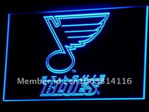 St. Blues Hockey Bar LED Neon Sign