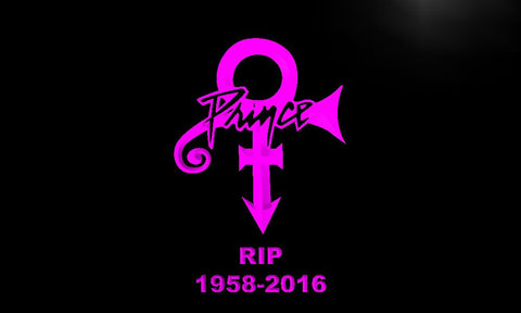 Prince Symbol RIP 1958-2016 Band Music LED Neon Sign