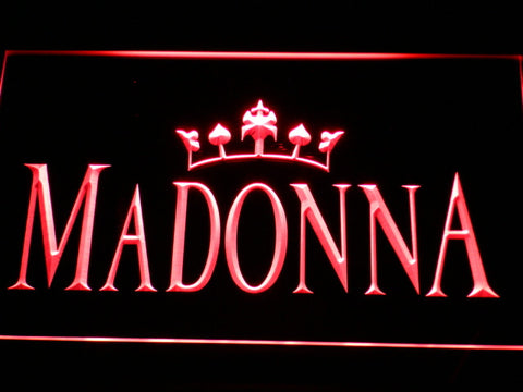 MaDonna Queen LED Neon Sign
