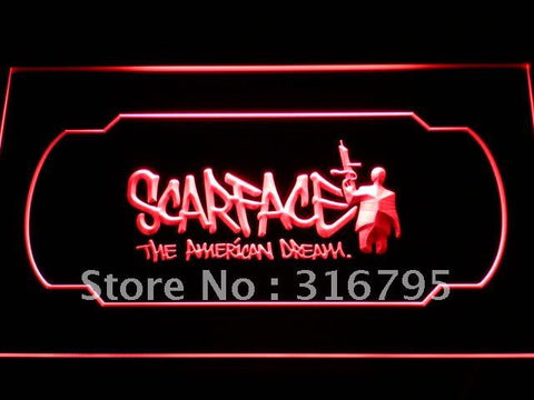 Scarface The American Dream LED Neon Sign