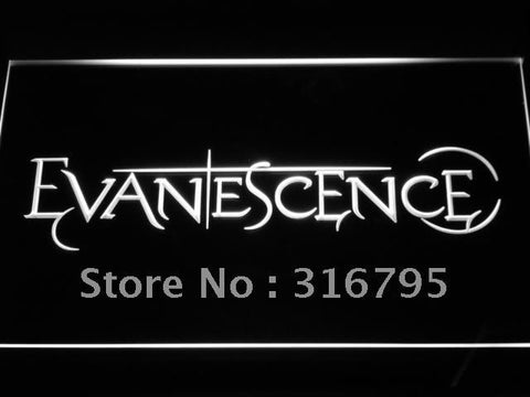 Evanescence Logo Bar Beer Music LED Neon Sign