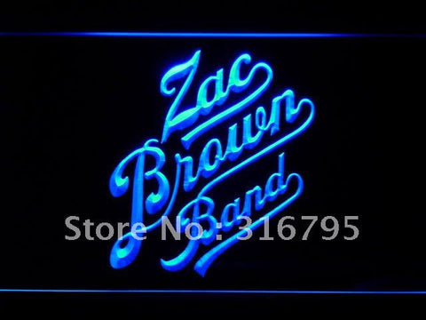 Zac Brown Band LED Neon Sign