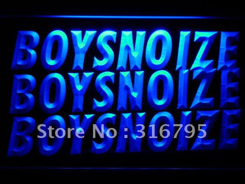 Boys Noize LED Neon Sign