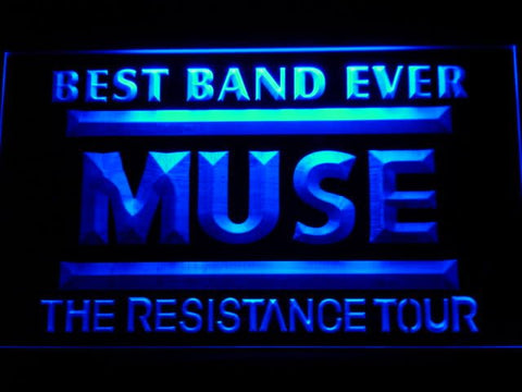 Best Band Ever MUSE LED Neon Sign