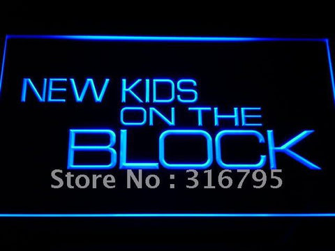 NKOTB New Kids On the Block LED Neon Sign