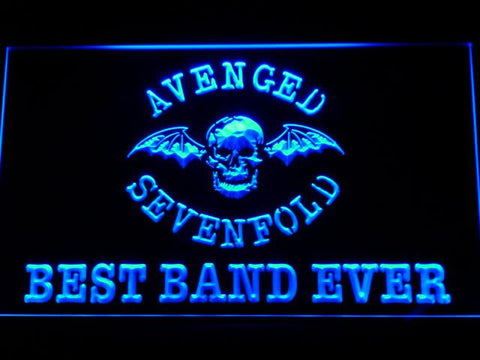 Best Band Ever Avenged Sevenfold LED Neon Sign