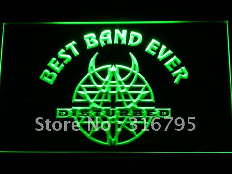 Best Band Ever Disturbed LED Neon Sign