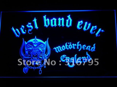 Best Band Ever Motorhead England LED Neon Sign