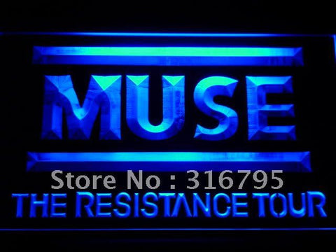 Muse the Resistance LED Neon Sign